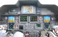 Agusta-Westland AW 109 Nexus cockpit
