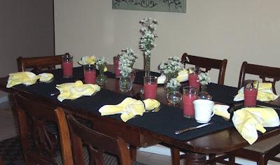 Divasofthedirt, dining room