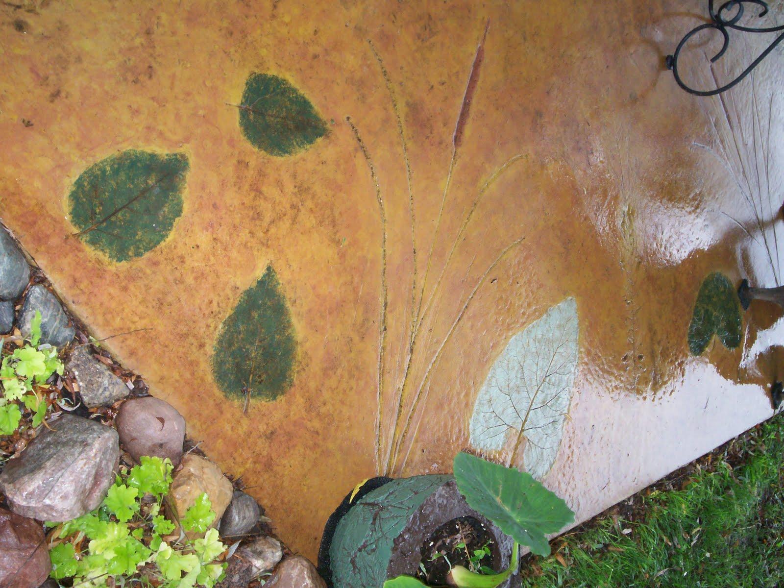 Tru Tales Feats Leaf Casting Patio