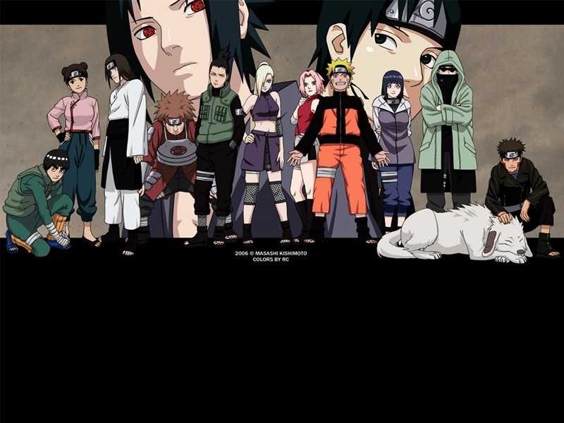 Labels: naruto family