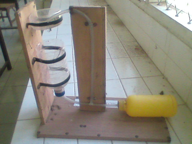 SMA Negeri 1 Belo telah membuat beberapa alat peraga yang sederhana