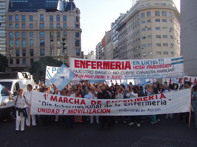1º Marcha de Enfermería