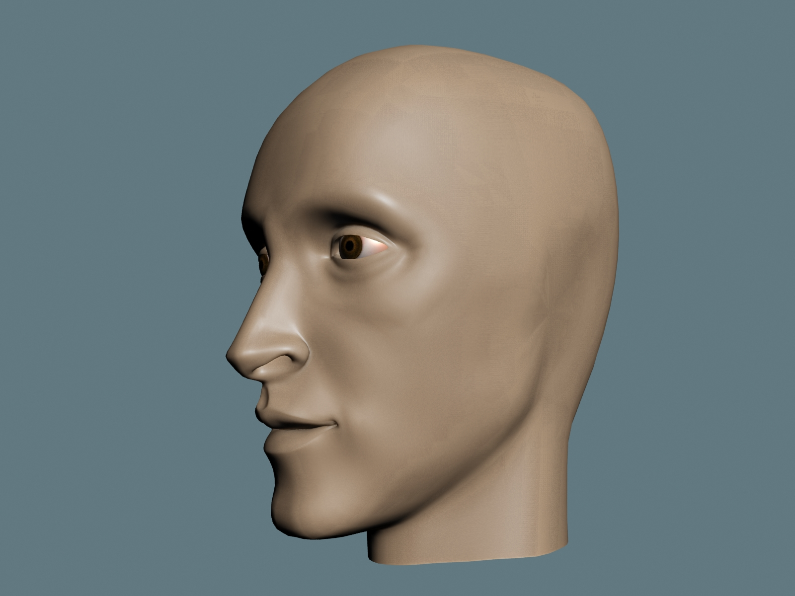 Vikky animations 3ds max face model for 3ds max face modeling
