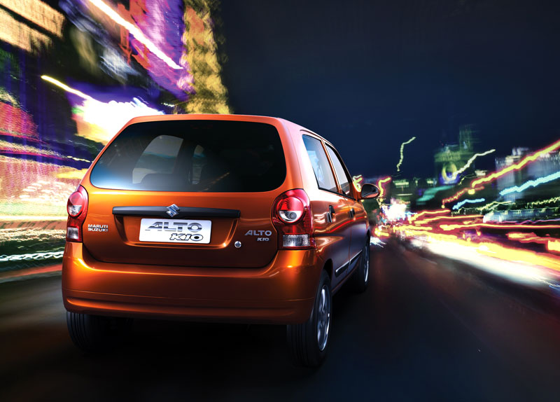 New Maruti Suzuki Logo. All New Maruti-Suzuki Alto K10