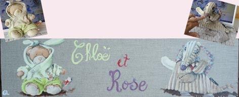 Chloë et Rose