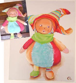 La poupée d'Oriane