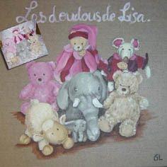Les doudous de Lisa