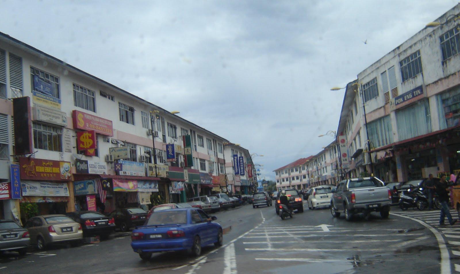 Dungun Malaysia  city images : Bandar Dungun dikatakan terkenal kerana aktiviti perlombongan pada ...