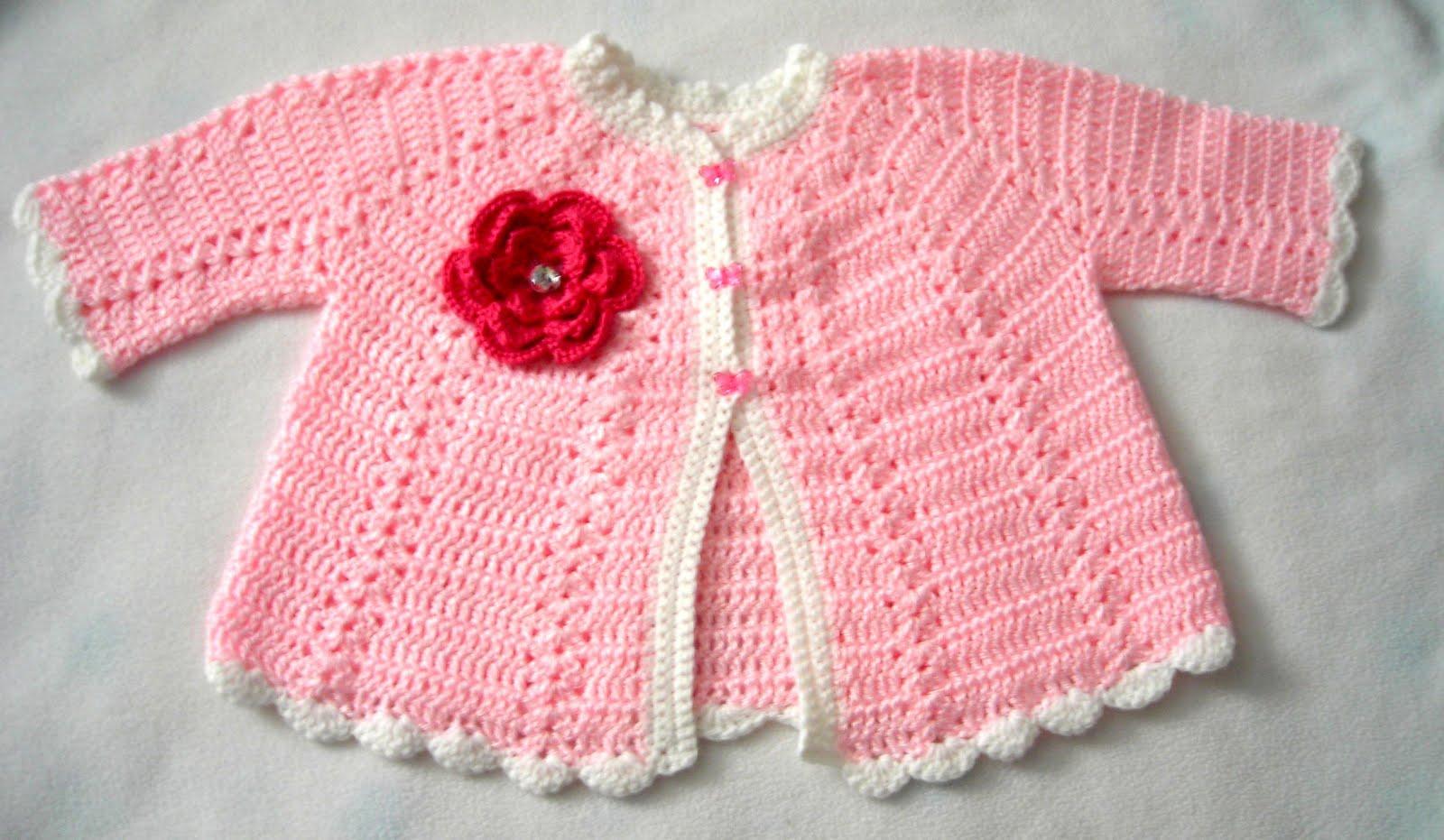 Toddler Crochet Sweater 3