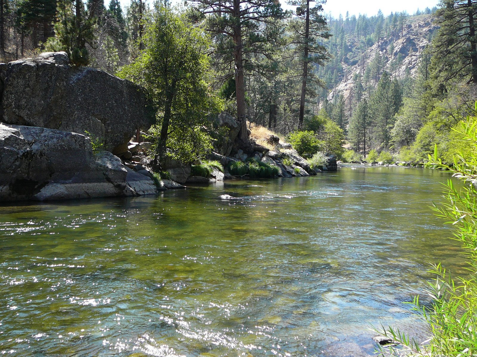 39 round the block balladeer july 2010 for Kern river fishing spots