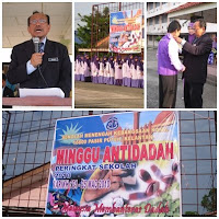Majlis Perasmian Minggu Antidadah Peringkat SMK Kamil2010