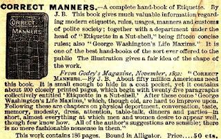 Correct Manner 1892