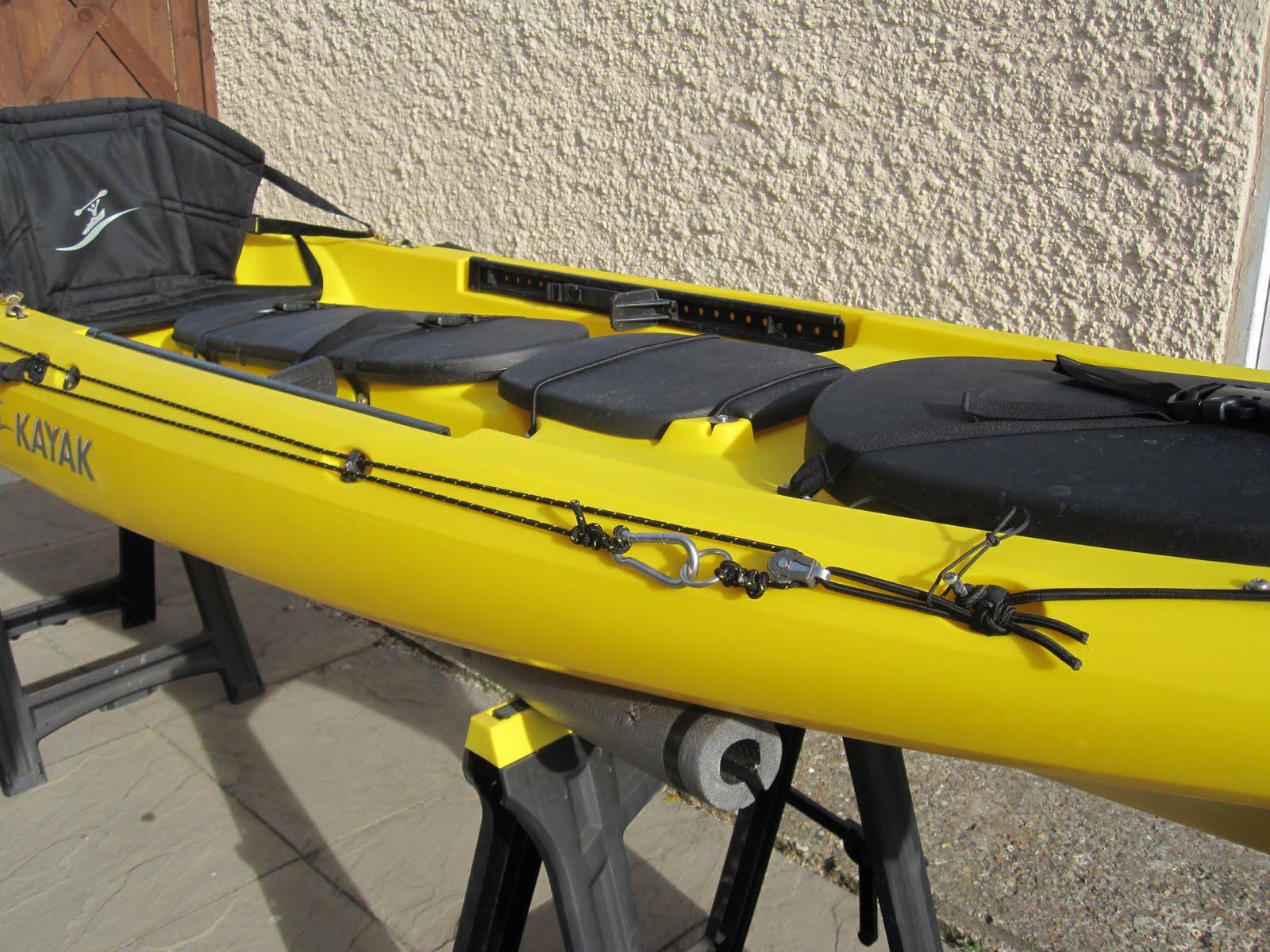 Kayak angler uk prowler trident 13 anchor trolley rigging for Fishing kayak anchor