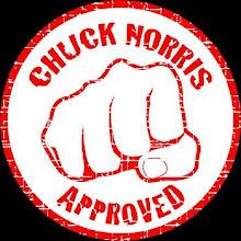 Agora também aprovados pelo Chuck Norris!!!