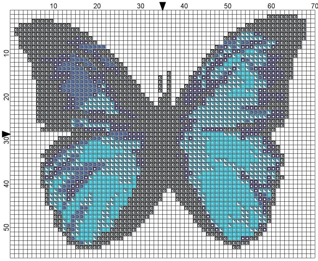 Farfalle sylvia 39 s stitch schemi punto croce for Farfalle punto a croce