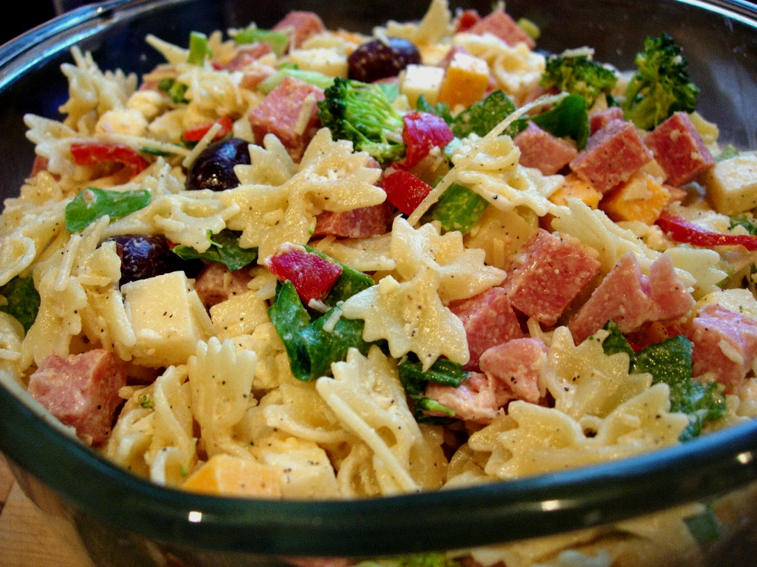 Italian Pasta Salad Recipes Momma's italian pasta salad