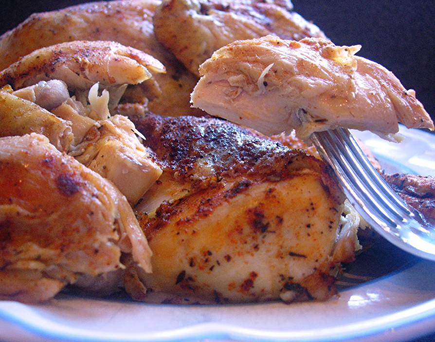 Slow Cooker Roast Chicken Recipe — Dishmaps