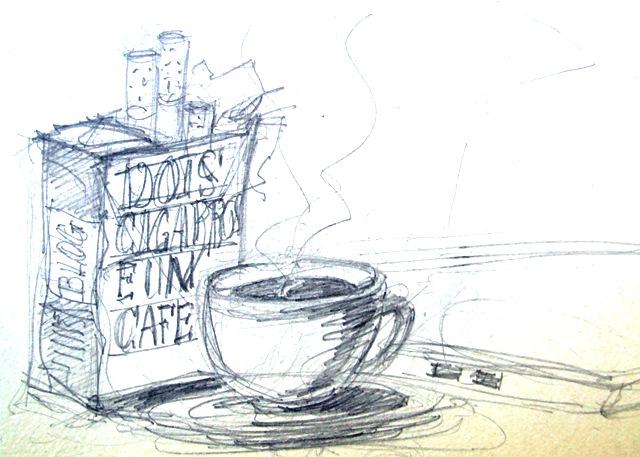 Dois Cigarros e um Café.