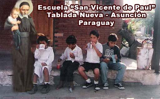 """ESCUELA """"SAN VICENTE DE PAUL"""". PARAGUAY"""