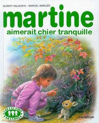 La cour des délire Martine+caca