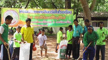 โครงการเกษตรอินทรีย์ในโรงเรียน
