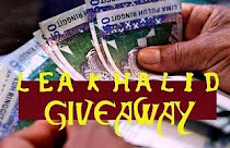 Lea Khalid Giveaway