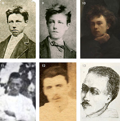 rimbaud photo comparisons