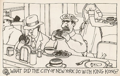 B. Kliban king kong