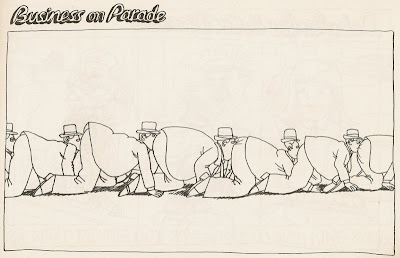 B. Kliban  business on parade