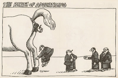 B. Kliban the birth of advertising