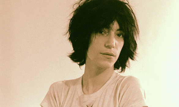 Patti Smith recounts her first meeting with poet Allen Ginsberg  who    Young Patti Smith