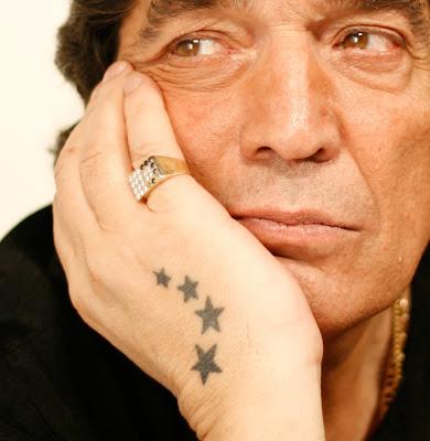 tatuajes de estrellas nauticas. tatuaje de cacho castaña. De Cacho Para Vos: LAS ESTRELLAS DE CACHO