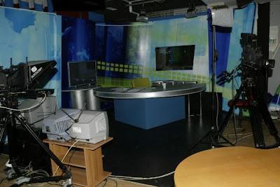 Το studio των ειδήσεων του Patra TV