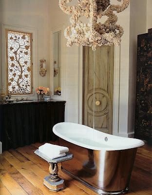 Katiedid the bathtub for Elle decor bathrooms