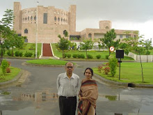 Wife &  Me in Hyderabad, India August 18, 2005