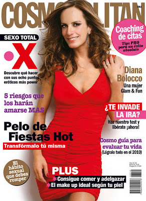 Diana Bolocco on Cosmopolitan Chile