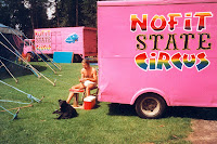 I lived in the back of that van, and got on with Grommet (Lurch's lovely dog) really well