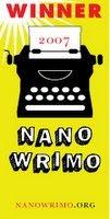 NaNoWriMo 'winner'