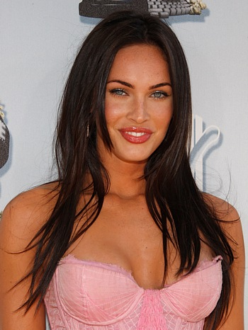 megan fox hair updos. megan fox hair. Sexy Celebrity