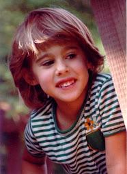 terri at age 5 ...