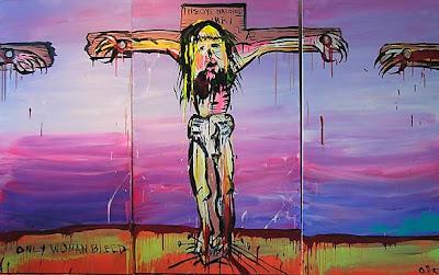 Adam Cullen's triptych Corpus Christi