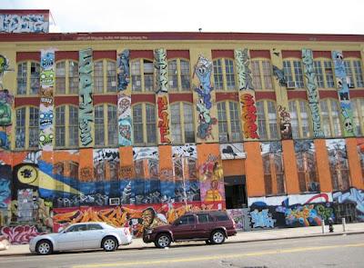 NY graffiti by Robin Tierney