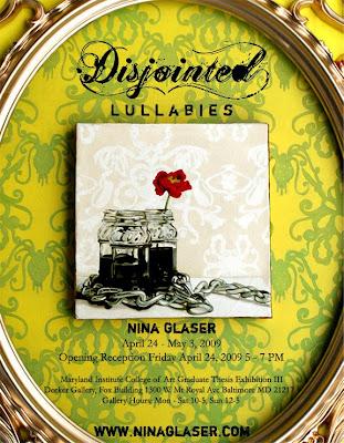 Nina Glaser postcard