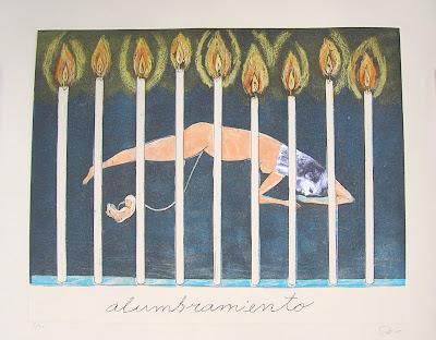 Sandra Ramos, Alumbramiento