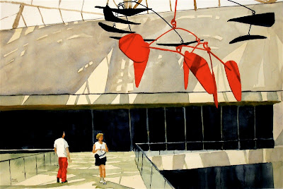 Peter Ulrich, Contemplating Calder