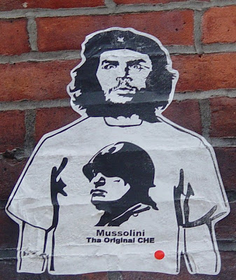 Che as Mussolini by Terry Ward