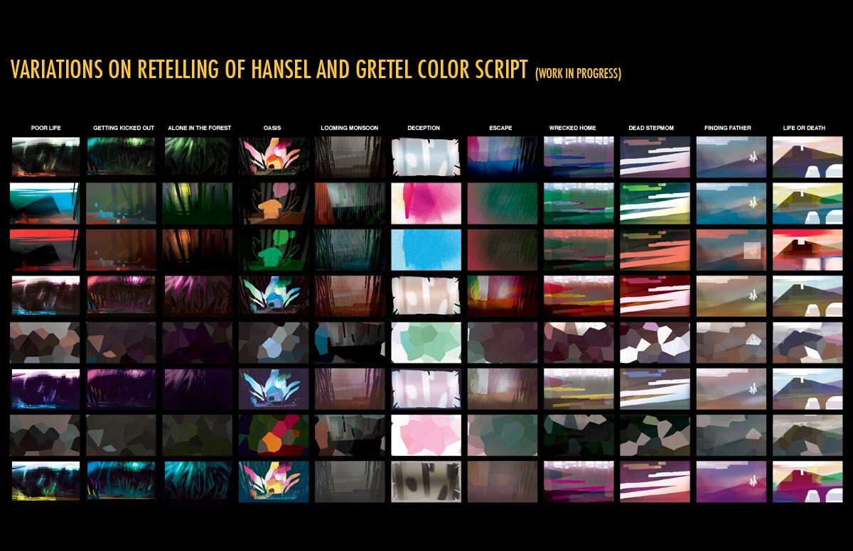 rugged color script