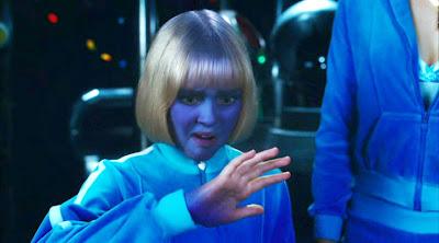 kék gyerek charlie