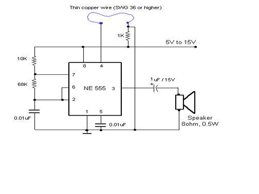 fun on electronics theft preventer alarm rh circuit on the go blogspot com