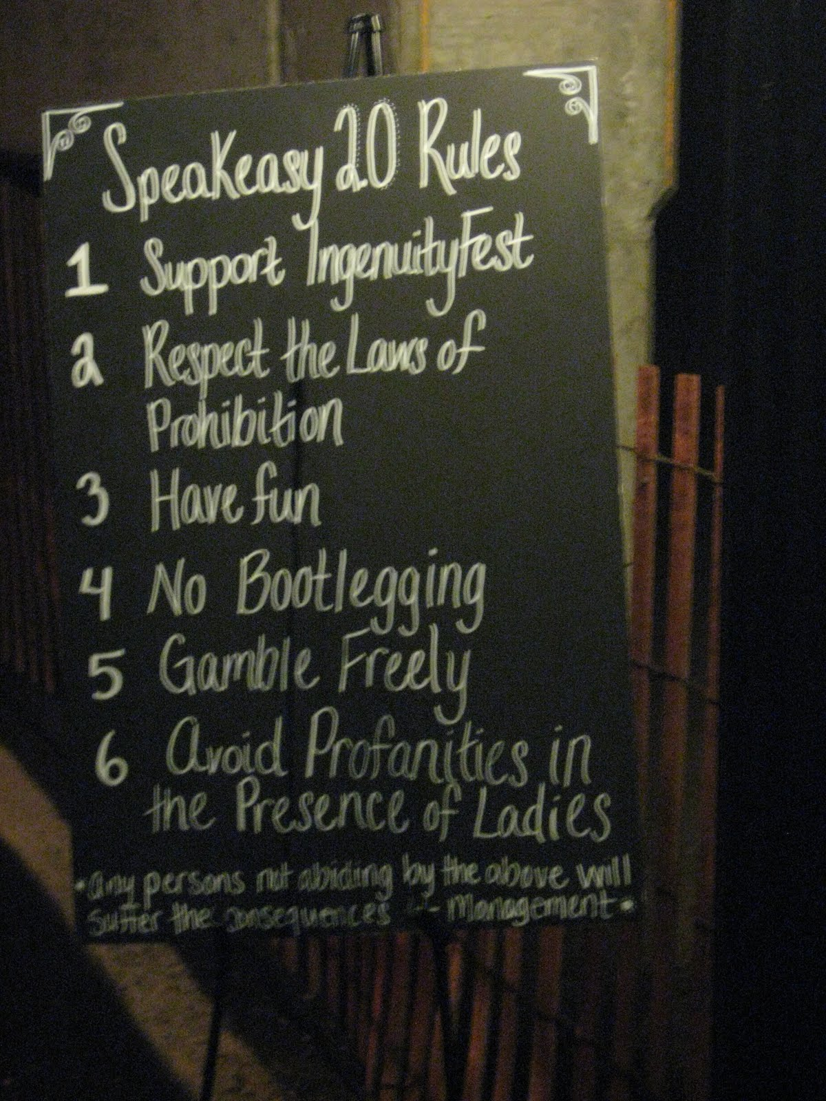 Party decoration ideas speakeasy rules speakeasy party for 1920s party decoration speakeasy